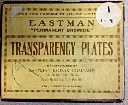 Eastman Transparency Plates