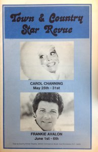 Town & Country Star Revue Program
