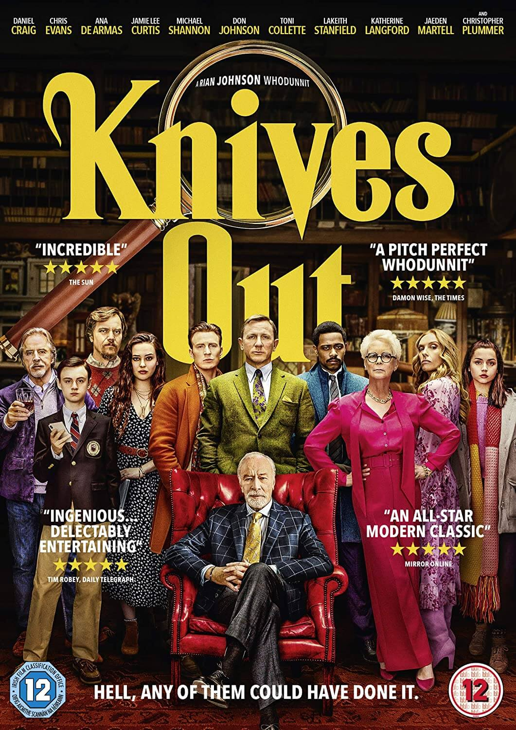 #5 Knives Out (2020)