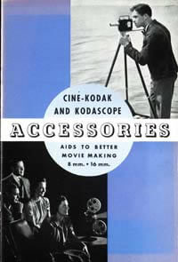 Cine Kodak and Kodascope Accessories